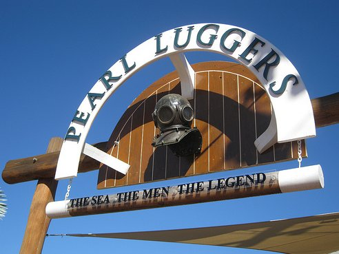 The Pearl Luggers in Broome, Australia