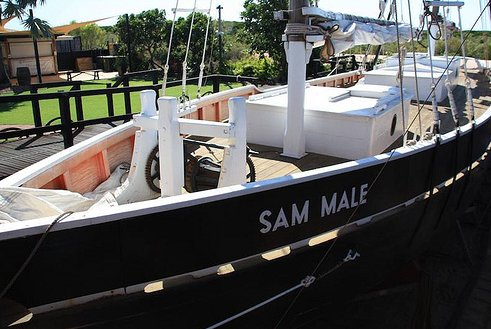 Authentic Pearl Lugger, Broome Australia