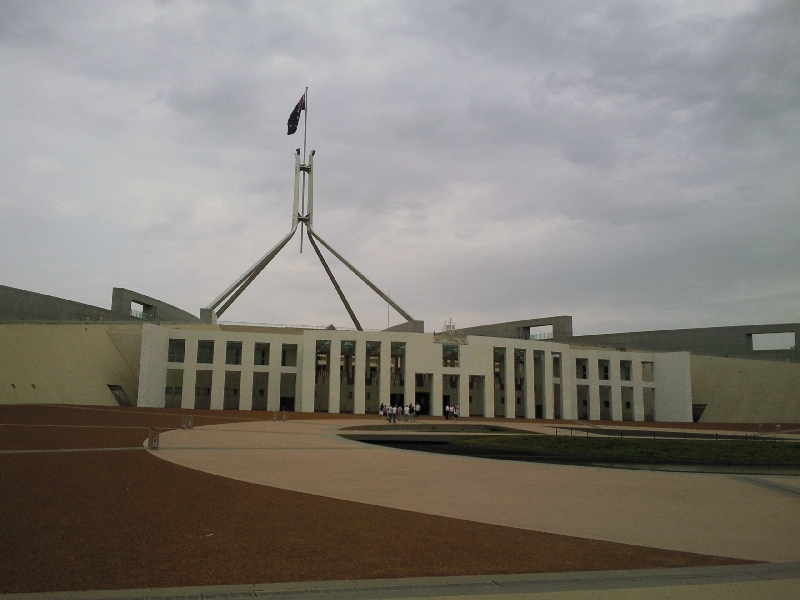 Canberras Parliament House, Australia