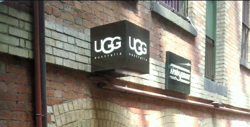 The Ugg Boots on sale in Melbourne, Australia