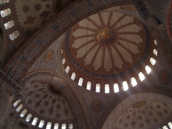 Blue Mosque inside, Turkey