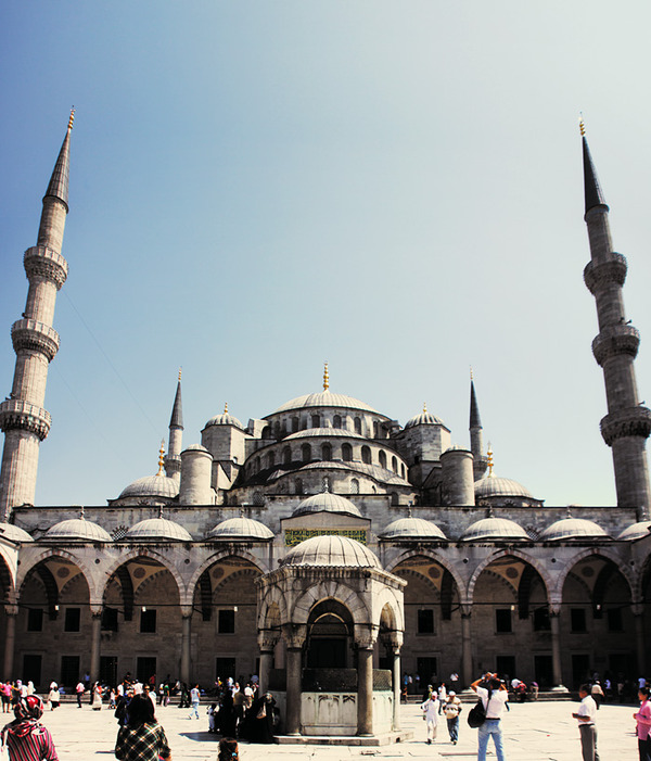 Blue mosque External, Turkey