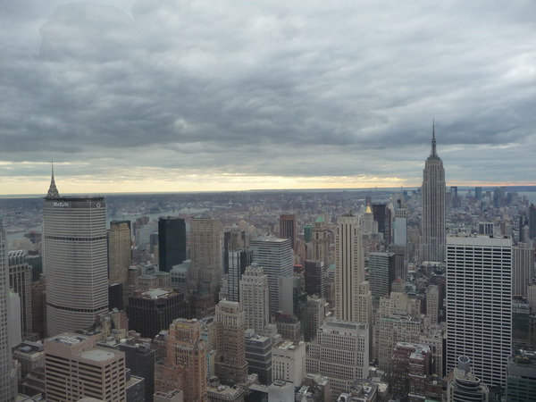 New York view from the Empire State Building, United States