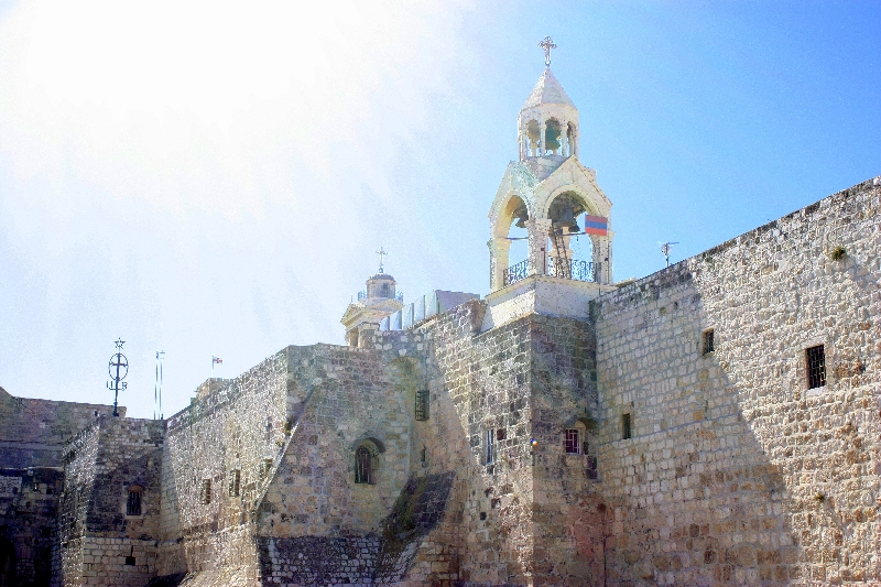 Church of Nativity in Bethlehem, Israel