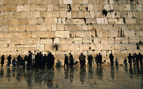 Western Wall in Jerusalem, Isreal, Israel