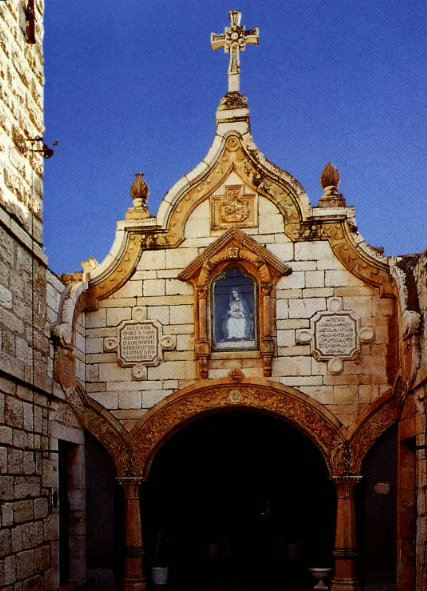 The Milk Grotto Church in Bethlehem, Israel