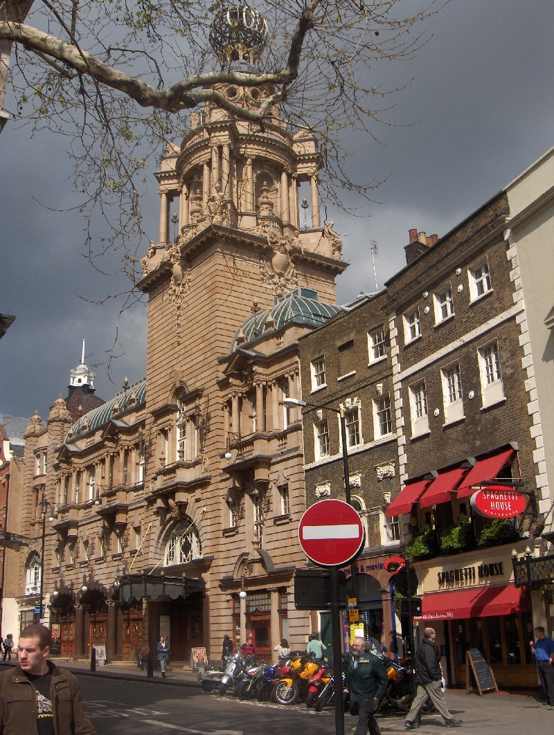 London Coliseum and the Spaghetti House, United Kingdom