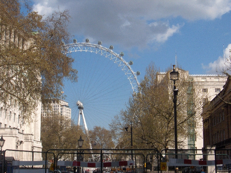 The London Eye in London, United Kingdom