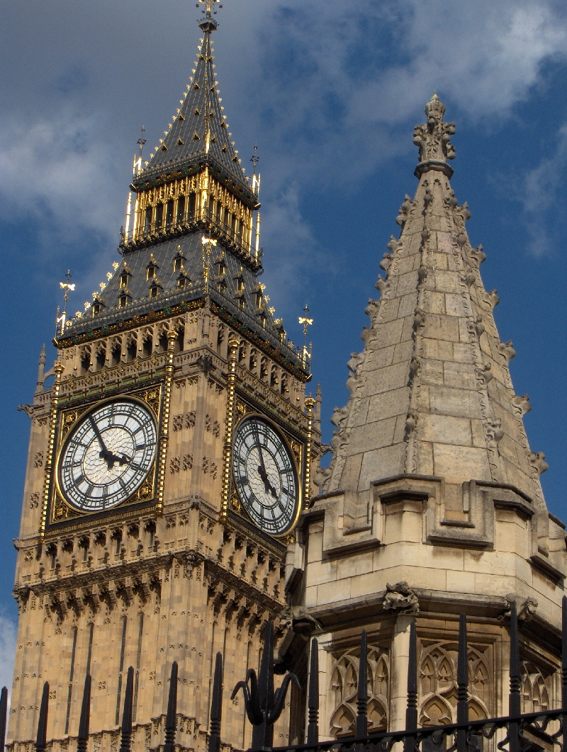 The Big Ben in London, United Kingdom