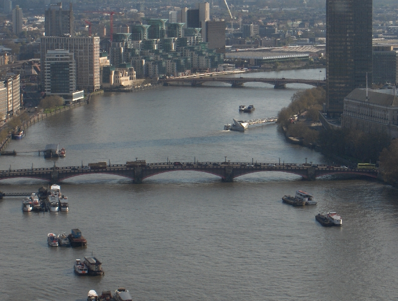 Panorama from the London Eye, United Kingdom