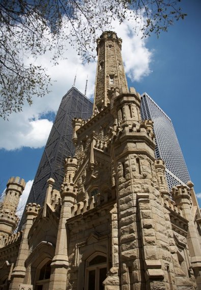 The Chicago Water Tower, United States