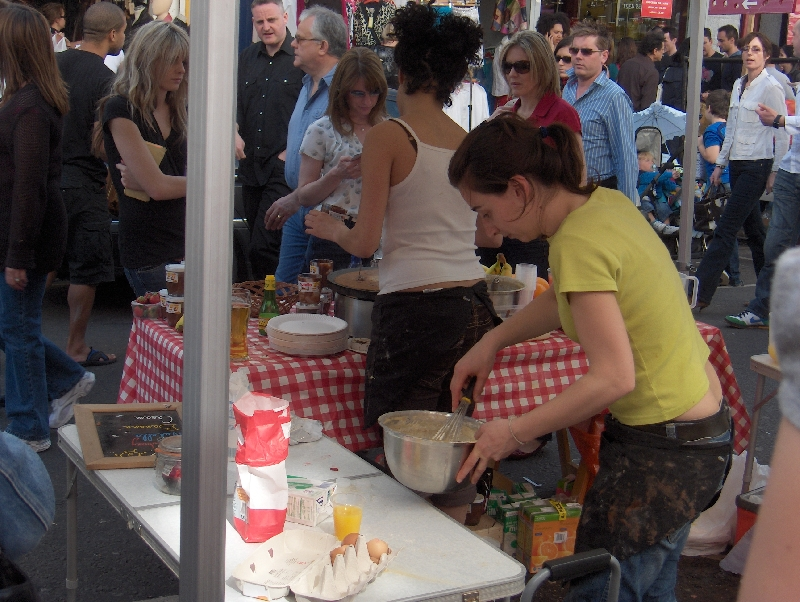 Fresh food on London markets, London United Kingdom