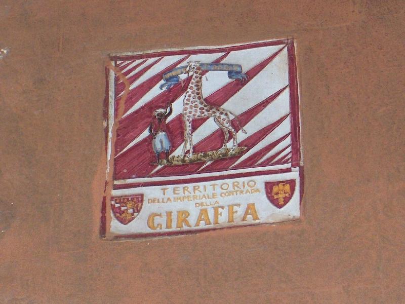 Territorio della contrada della Giraffa, Italy