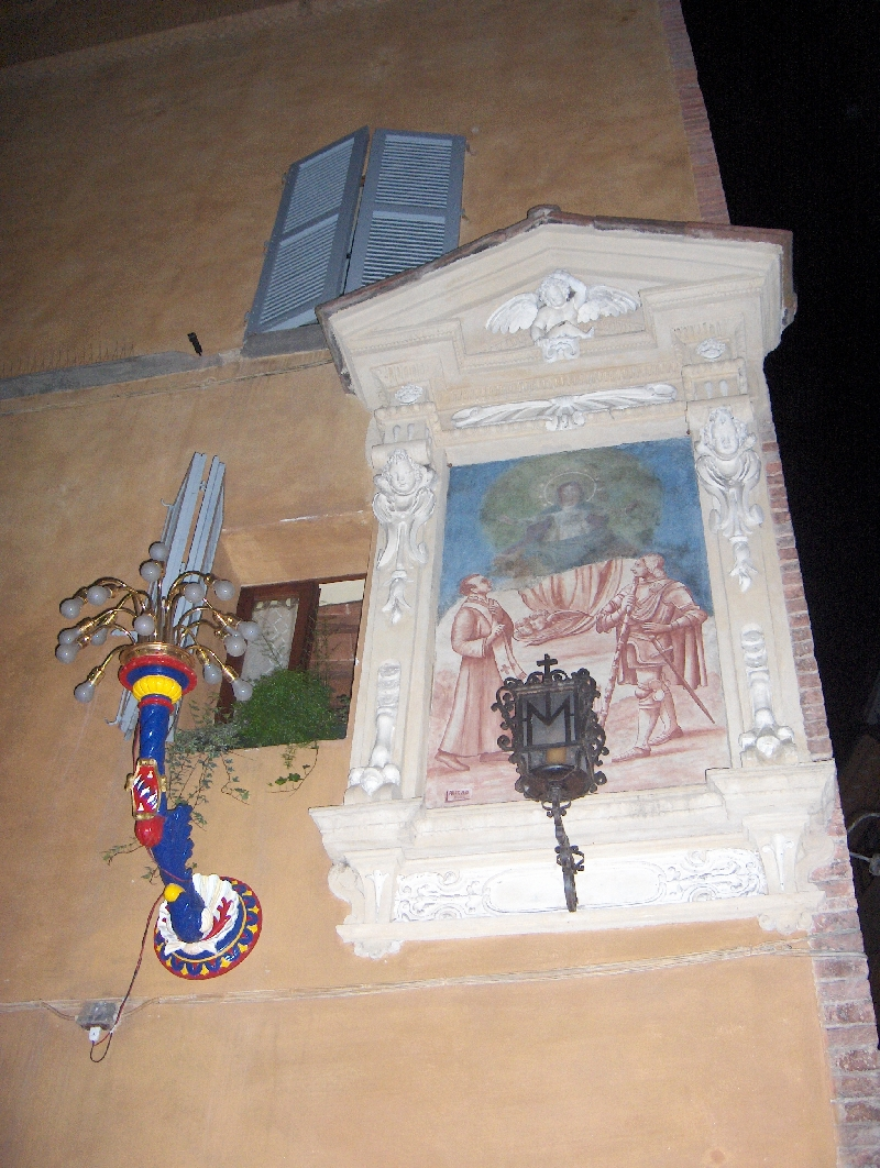 The Palio in Siena , Italy