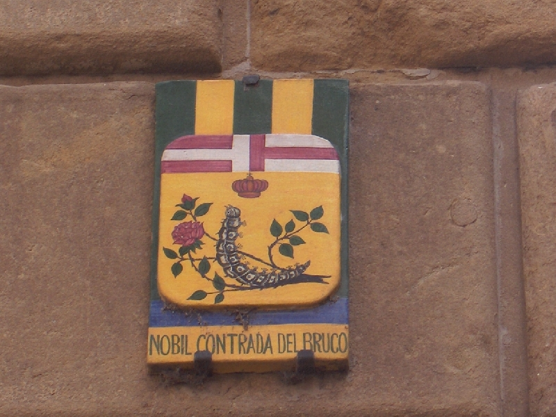 Nobil Contrada del Bruco in Siena, Italy