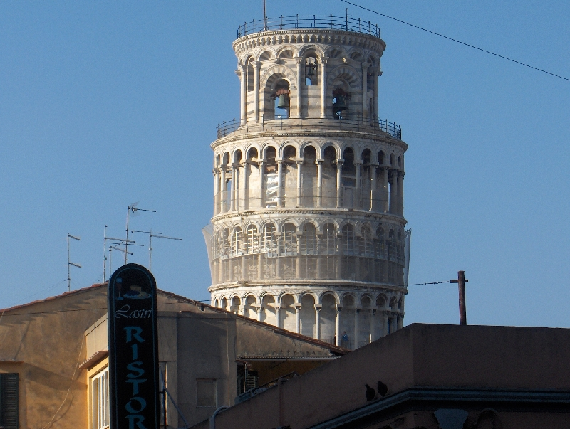 The tower of Pisa, Italy, Italy