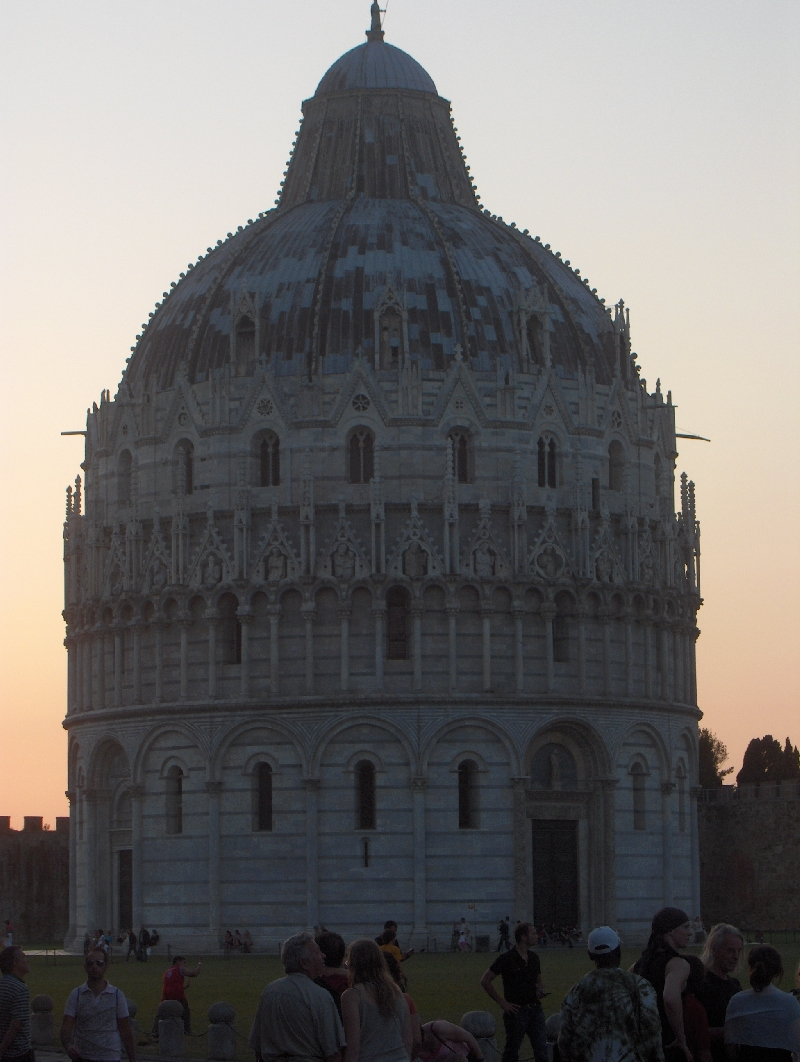 The Baptistry of Pisa, Italy, Pisa Italy