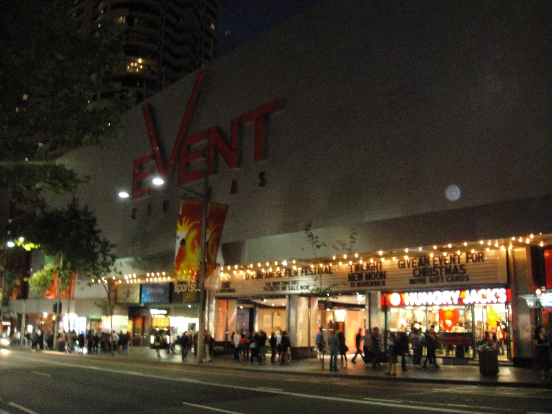 Event Cinema on George St, Sydney, Australia
