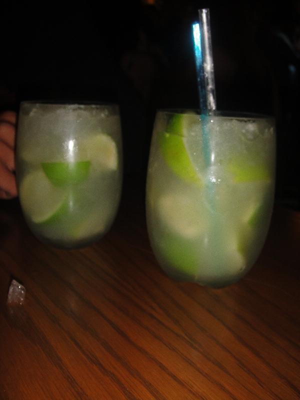 Caipiroska Lime Cocktails, Sydney Australia