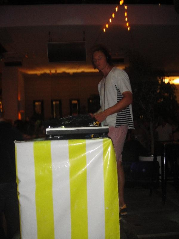 Picture of the DJ in Sydney, Australia