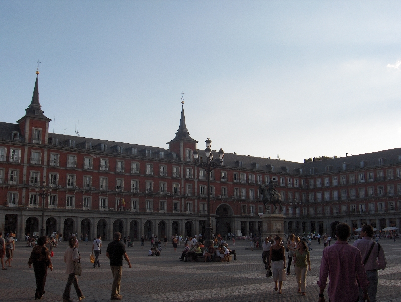 Madrid Spain Pictures of Plaza Mayor, Spain