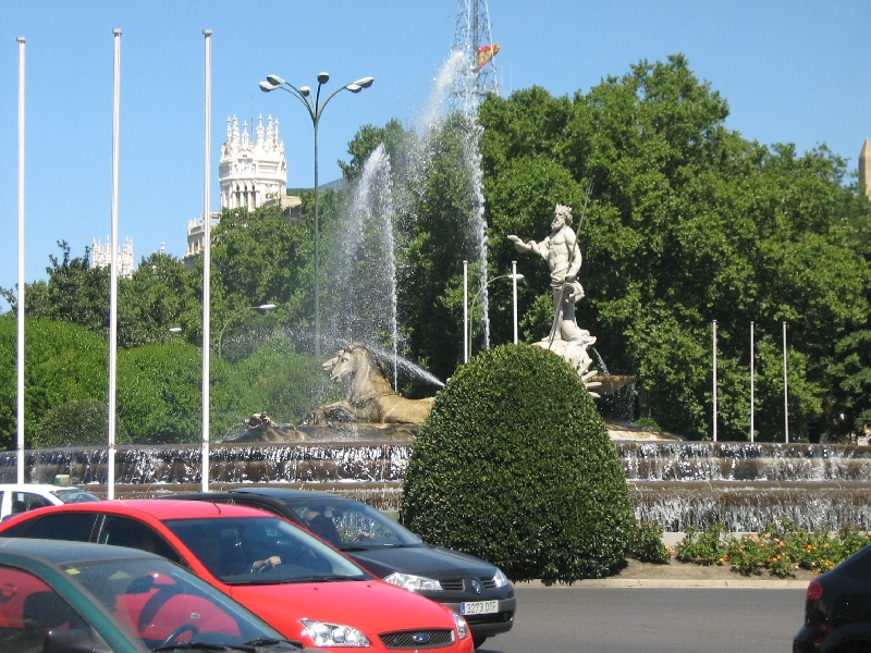 Round trip Spain: Madrid Photo