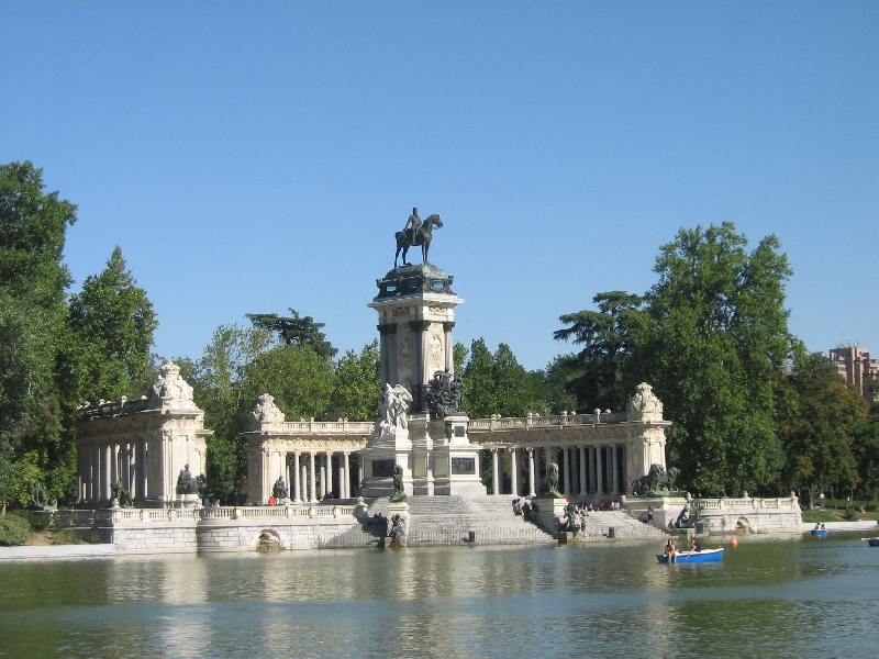 Round trip Spain: Madrid Picture