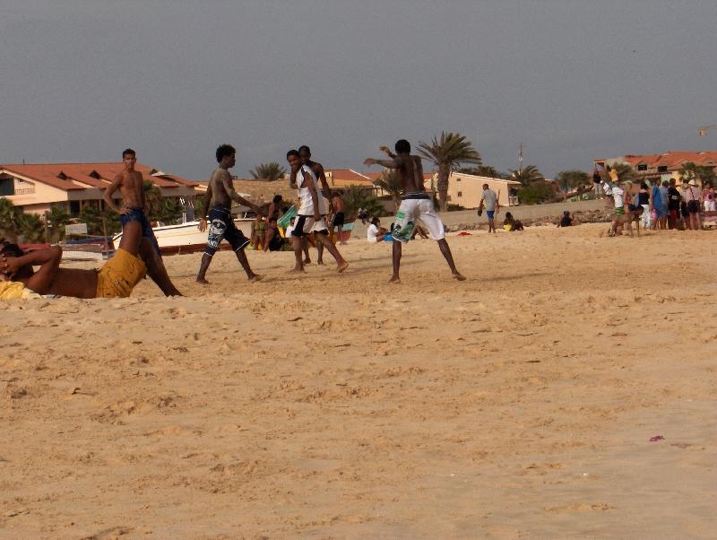Capoeira pictures in Cape Verde, Cape Verde