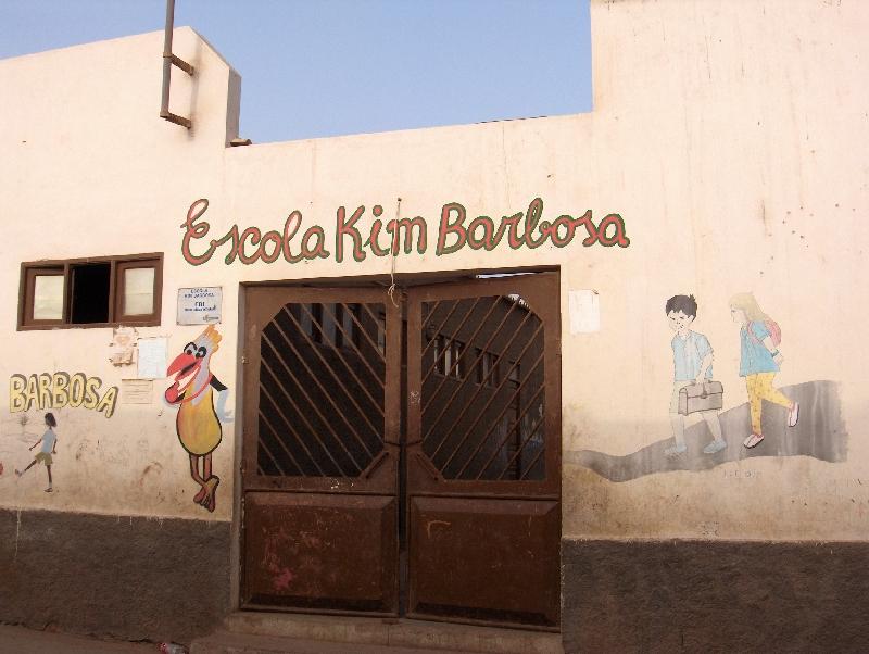 Santa Maria Cape Verde Elementary School in Cape Verde