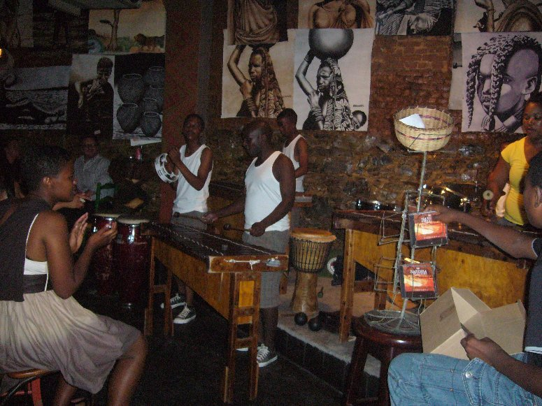 Cape Town South Africa Live Band on Longstreet, Cape Town