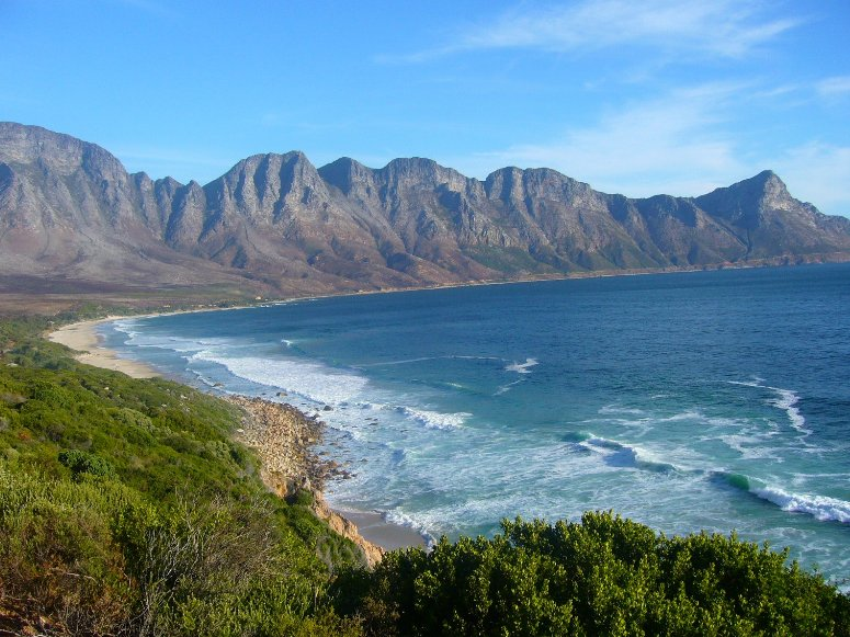 Cool Bay beach in South Africa, Cape Town South Africa