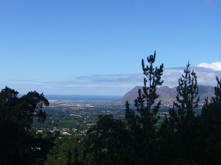 View from Tafelberg Mountain, Cape Town South Africa