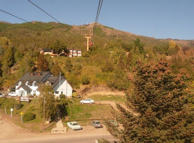 From the ski lift in Bariloche, Argentina