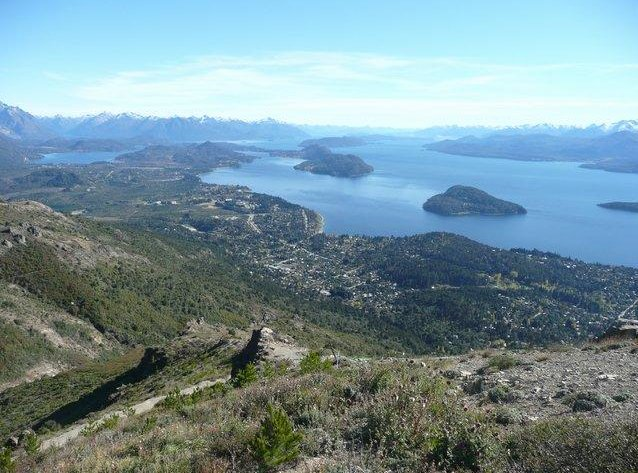 Great panorama from San Carlos de Bariloche, Argentina