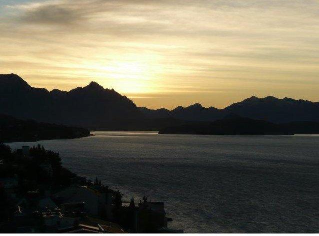 The lakes in Bariloche, Argentina, San Carlos de Bariloche Argentina