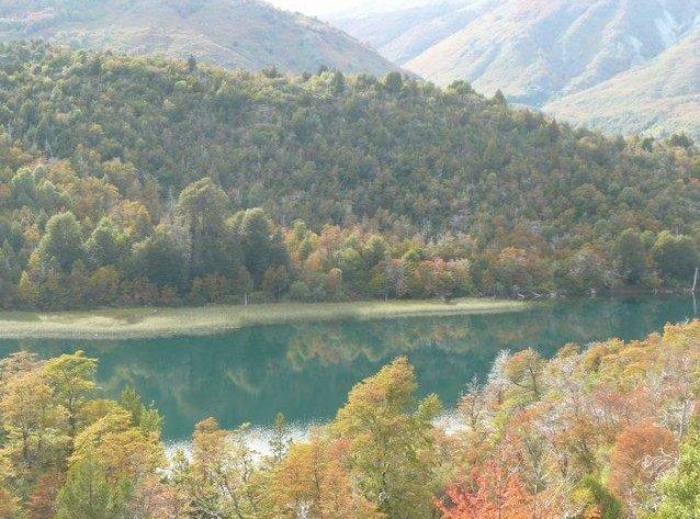 Gutiérrez Lake in Bariloche, Argentina