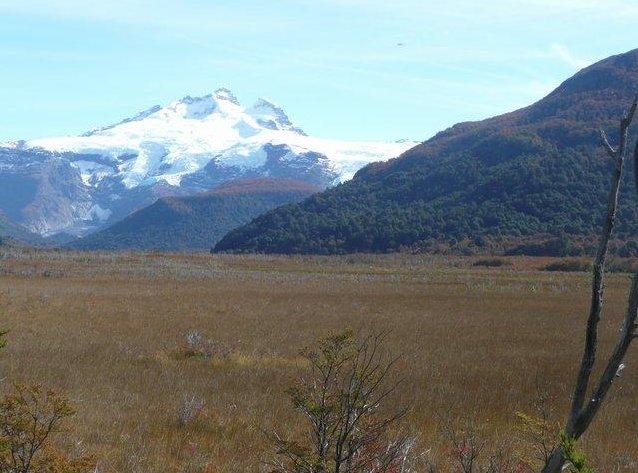 Mountain Tronador in Bariloche, San Carlos de Bariloche Argentina