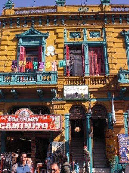 Pictures of La Boca in Buenos Aires, Argentina