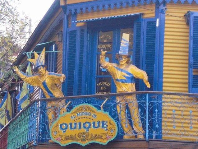 Museo de QuiQue in La Boca, Argentina
