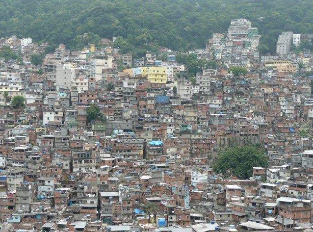 The Favelas in Rio de Janeiro, Brazil, Brazil