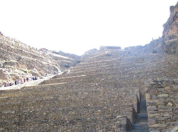 Ollantaytambo ancient Inca ruins, Cuzco Peru