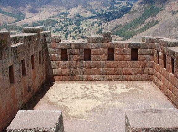 Ruins in Pisac, Peru, Peru