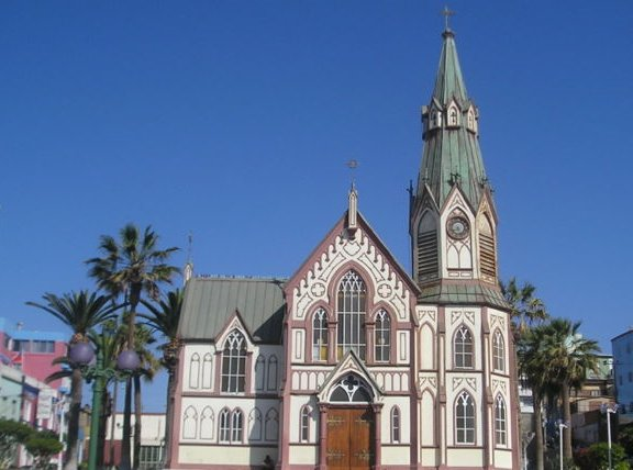 Catedral de San Marcos de Arica, Arica Chile