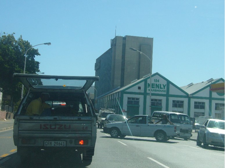 South African Traffic in Cape Town, South Africa