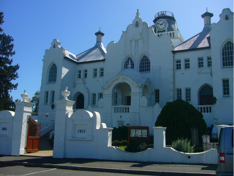 South African Church on the Garden Route, Cape Town South Africa