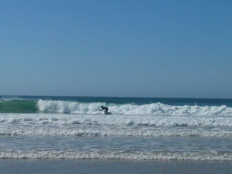 Cape Town South Africa Surfers in Jeffreys Bay, South Africa