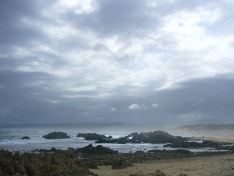 Panorama at Buffalo Bay, Cape Town South Africa