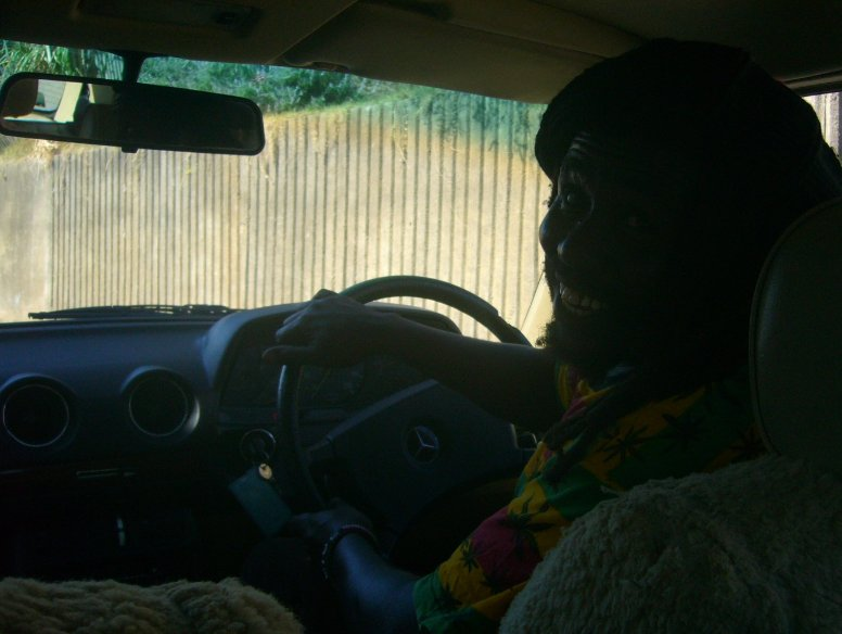 Our Rastafarian Tour guide:), South Africa