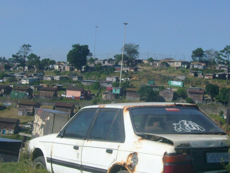 The streets of the Rastafarian Community, Knysna South Africa