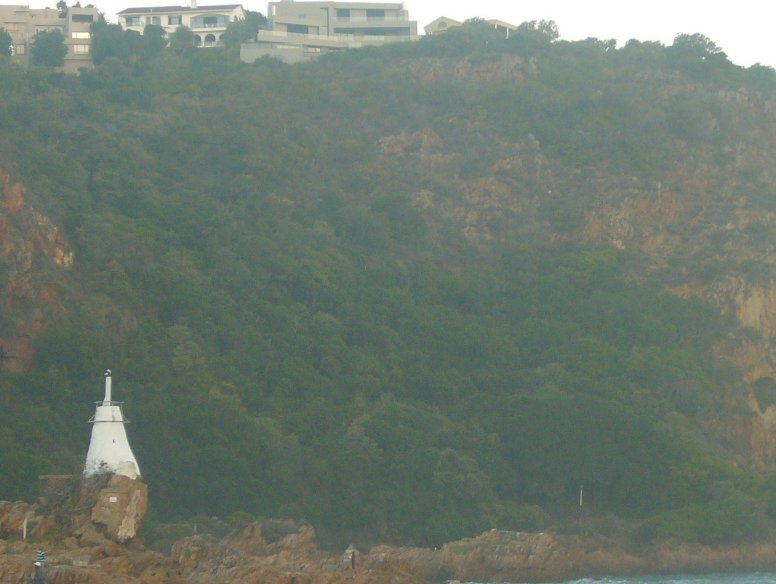 Lighthouse in Lions Head, Knysna South Africa